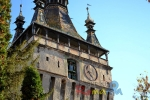 clock tower sighisoara transylvania romania00006
