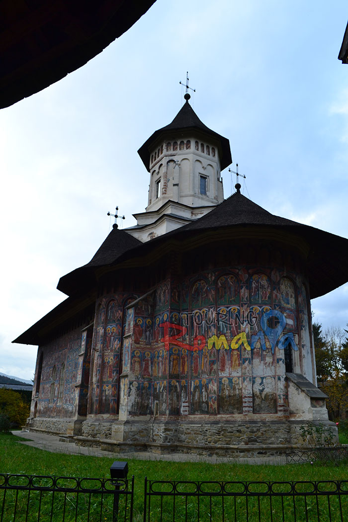 Moldovita Painted Church Bucovina Romania Unesco World Heritage 1