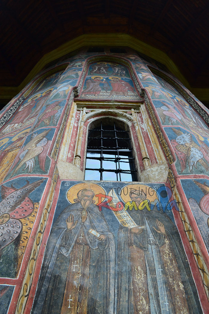 Moldovita Painted Church Bucovina Romania Unesco World Heritage 11