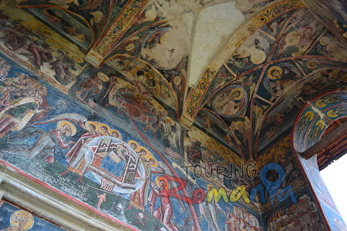 Moldovita Painted Church Bucovina Romania Unesco World Heritage 6