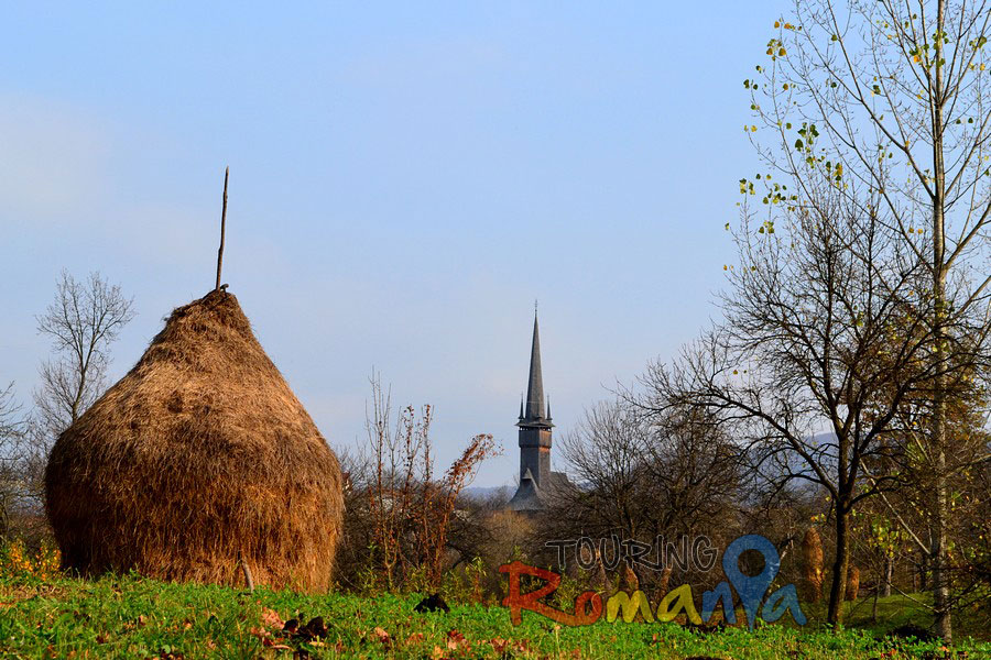 Wooden Church from Plopis Unesco Maramures Romania00001