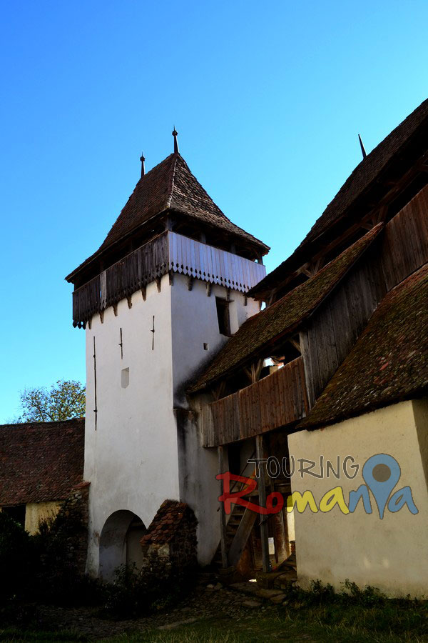 Fortified Church from Viscri Unesco Transylvania Romania00022