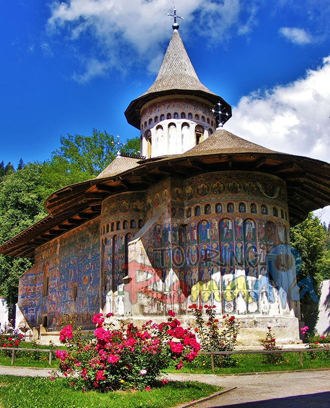 Painted Monasteries from Bucovina Romania