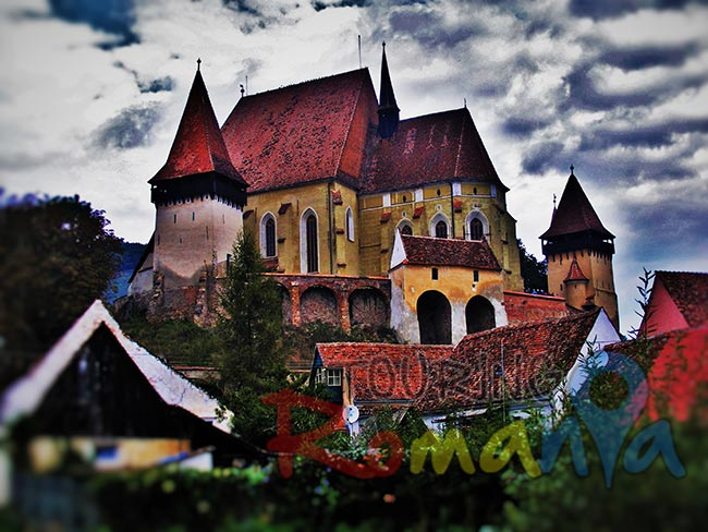 Biertan Fortified Church and Village Transylvania Romania