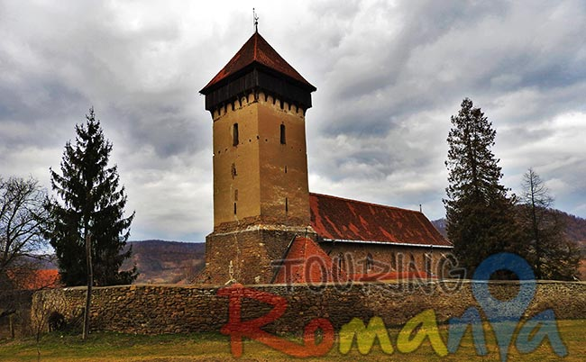 Malancrav Fortified Church Transylvania 1