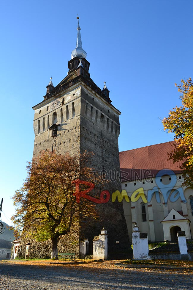 Saschiz Fortified Church Transylvania