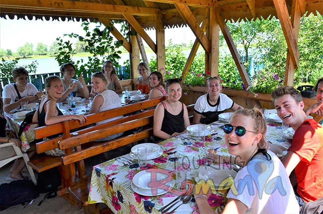 Traditional Lunch in Danube Delta Romania 3