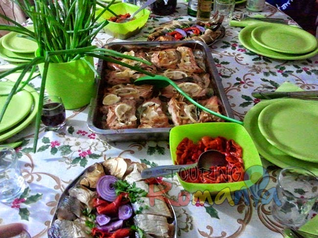 Traditional Lunch in Danube Delta Romania 4