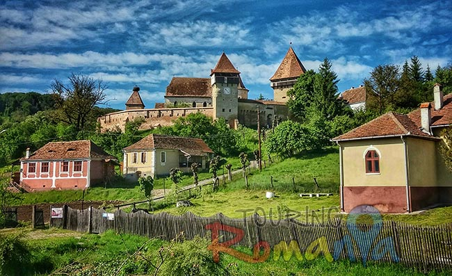 Saxon Village from Transylvania Romania