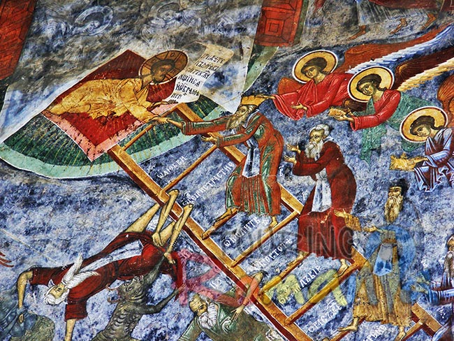 Painted Monasteries from Bucovina Romania 10