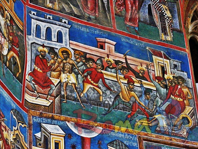Painted Monasteries from Bucovina Romania 2