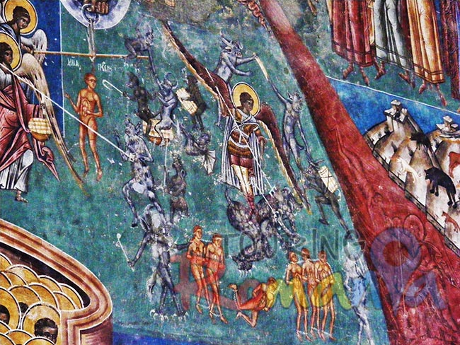 Painted Monasteries from Bucovina Romania 3