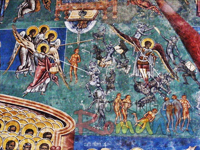 Painted Monasteries from Bucovina Romania 5
