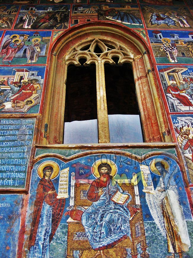 Painted Monasteries from Bucovina Romania 7