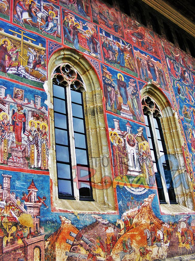 Painted Monasteries from Bucovina Romania 8