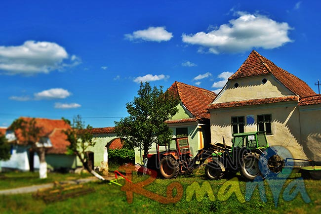 Viscri Fortified Church and Village Transylvania Romania 3
