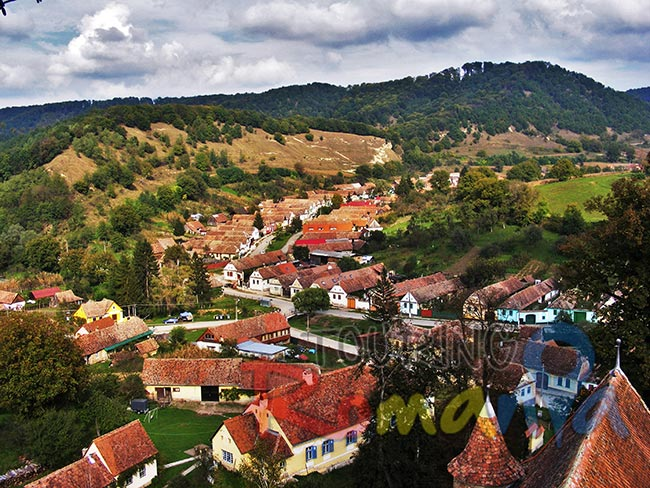 Saxov Village from Transylvania Romania