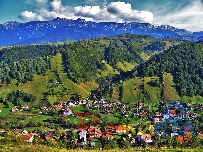 Fundata Mountain Village Romania 4