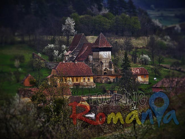 Copsa Mare Fortified Church Transylvania Romania