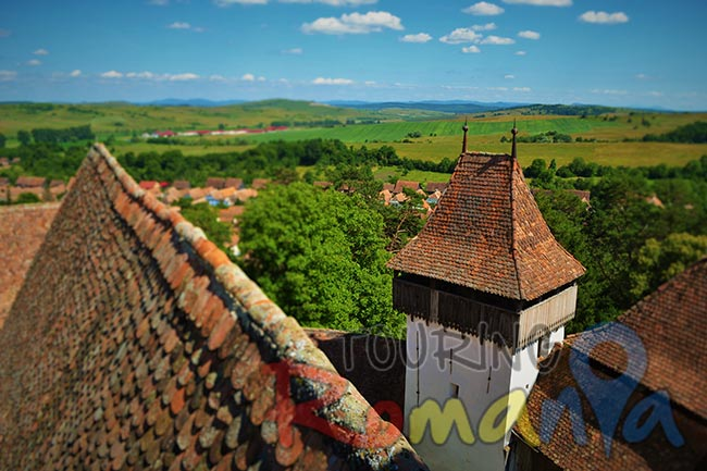 Viscri Fortified Church and Village Transylvania Romania 2