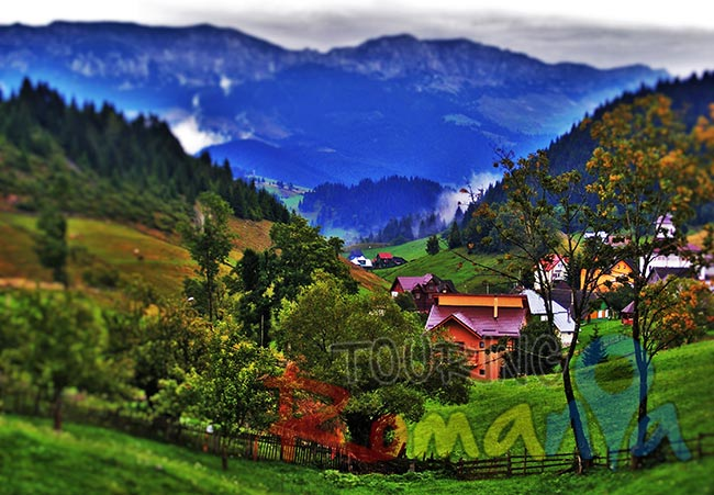 Fundata Mountain Village Romania 2